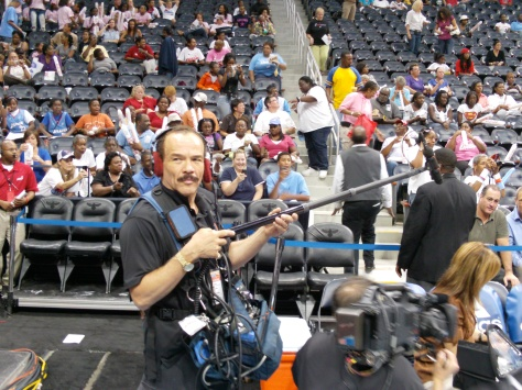 Sound Mixer WNBA Finals Atlanta Dream